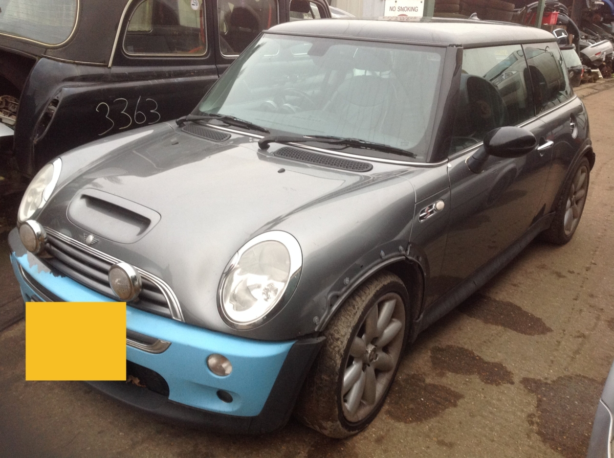 BMW MINI COOPER S 2004 1600cc